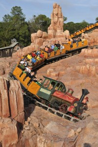 Big Thunder Mountain Railroad Whisks Riders on the Wildest Ride in the West