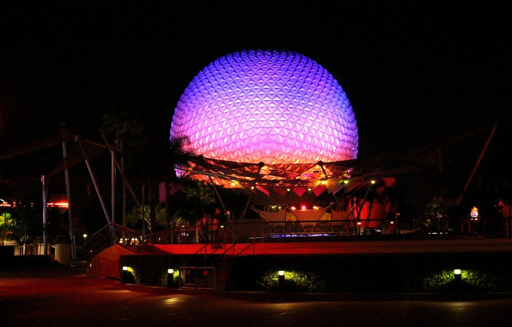 Edited - Epcot Dark