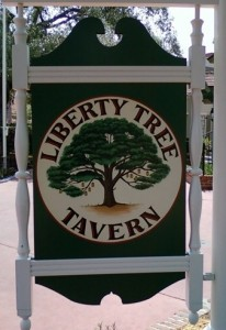 Libery Tree Sign
