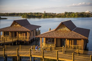 The Bora Bora Bungalows atÊDisney's Polynesian Villas & Bungalows