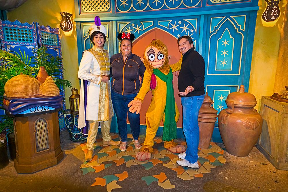 Aladdin and Apu at MVMCP