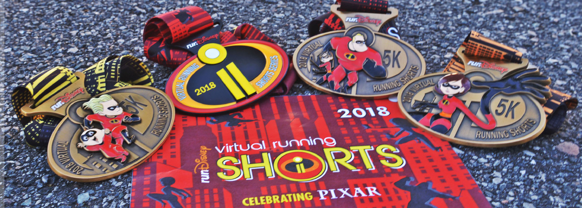 runDisney Virtual Running Shorts Series